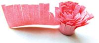 бахрома из бумажной ленты