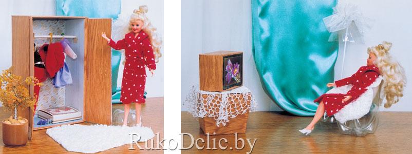 самодельная мебель для кукол