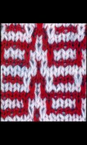 Ленивый узор для вязания на спицах