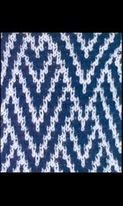 Ленивый узор вязания на спицах