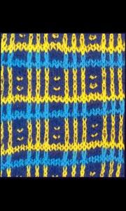 Ленивый узор для вязания спицами