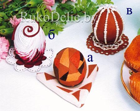 Вот еще одна идея, как украсить пасхальные яйца: при помощи крупы.  Мы использовали рис, пшено, горох...