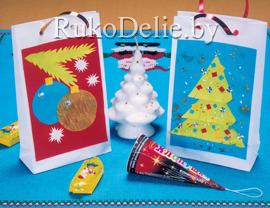 Мешочки для подарков к Новому году