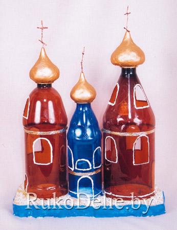 Поделки с пластиковых бутылок своими руками на выставку