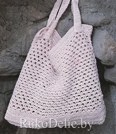 Вязаные крючком сумки популярны у вязальщиц, так как само вязание...
