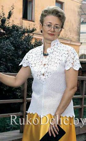 Блузка Связанная
