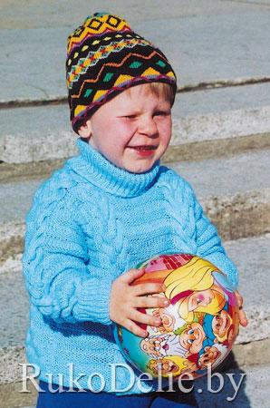Вязание спицами детские вещи.