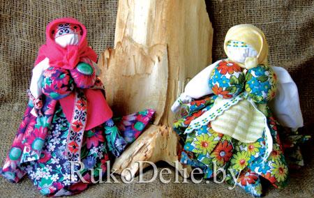 тряпичная веппская кукла