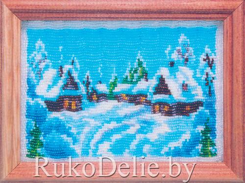 Картина с зимним пейзажем 7571741193538
